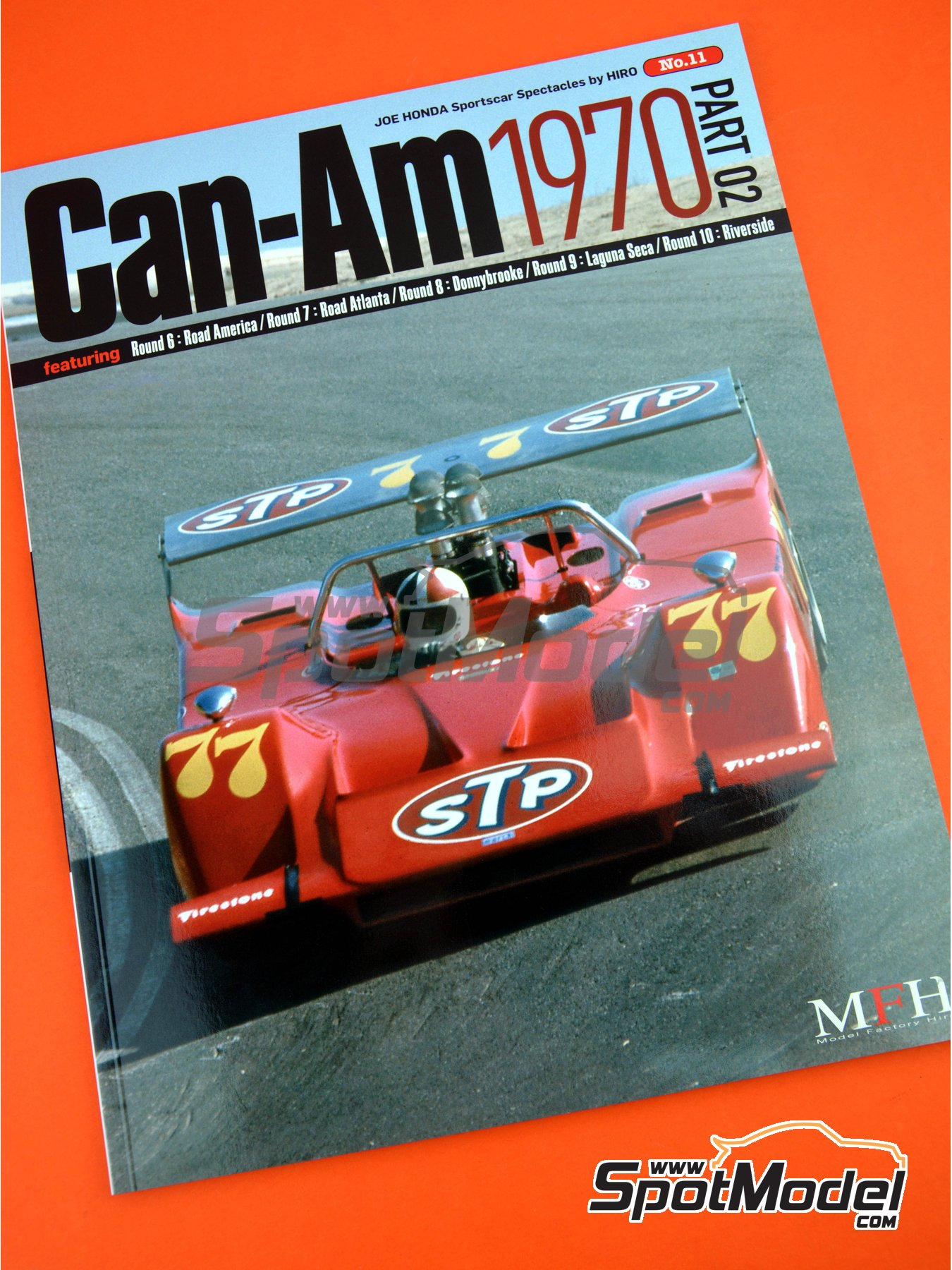 JOE HONDA Sportcar Spectacles by Hiro: Parte 2 - Can-Am 1970 | Libro de referencia fabricado por Model Factory Hiro (ref. MFH-SS011) image