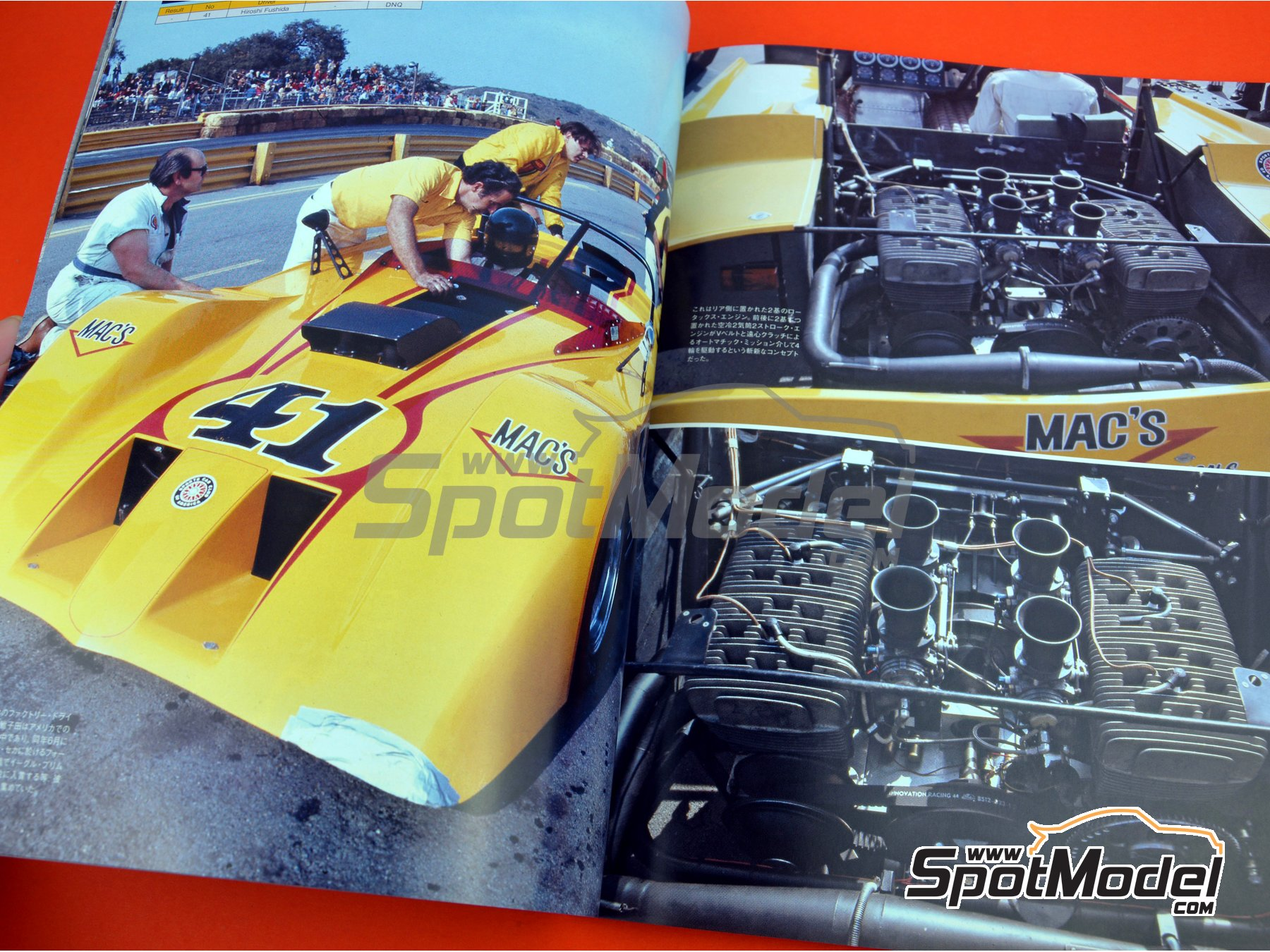 Image 4: JOE HONDA Sportcar Spectacles by Hiro: Parte 2 - Can-Am 1970 | Libro de referencia fabricado por Model Factory Hiro (ref. MFH-SS011)