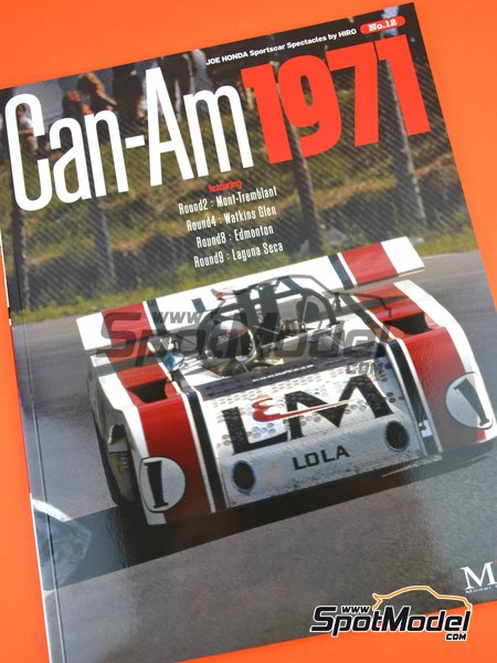 JOE HONDA Sportcar Spectacles by Hiro - Can-Am Canadian-American Challenge Cup 1971 | Reference / walkaround book manufactured by Model Factory Hiro (ref. MFH-SS012) image