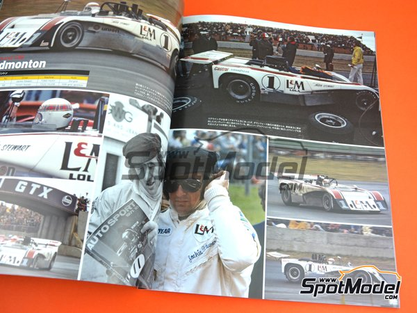Image 2: JOE HONDA Sportcar Spectacles by Hiro - Can-Am Canadian-American Challenge Cup 1971 | Reference / walkaround book manufactured by Model Factory Hiro (ref. MFH-SS012)