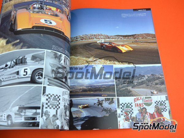 Image 6: JOE HONDA Sportcar Spectacles by Hiro - Can-Am Canadian-American Challenge Cup 1971 | Reference / walkaround book manufactured by Model Factory Hiro (ref. MFH-SS012)