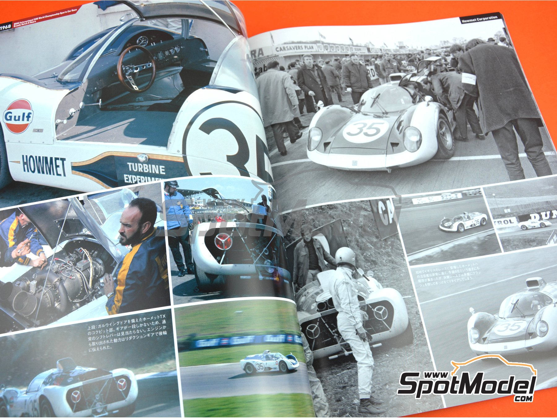 Image 4: JOE HONDA Sportcar Spectacles by Hiro: Sport Prototypes - Part 1 - 1000 Kms Monza, Targa Florio, 500 Kms BOAC Sports Race 1968 | Reference / walkaround book manufactured by Model Factory Hiro (ref. MFH-SS013)