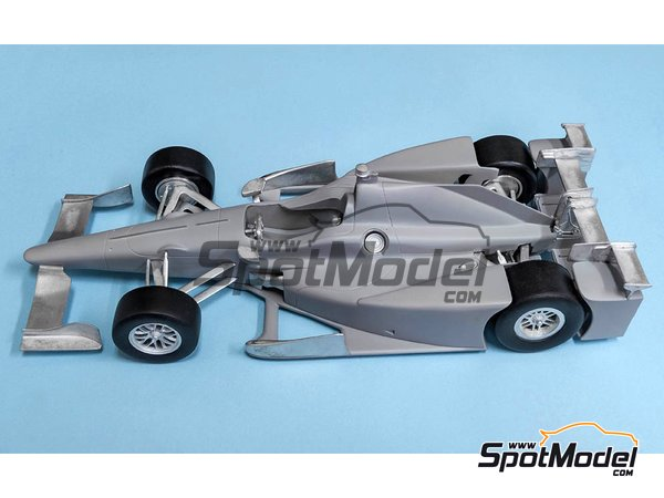 Image 7: Autosport-Honda Andretti Autosport - Indy 2017 | Model car kit in 1/20 scale manufactured by Model Factory Hiro (ref. NBK-002)
