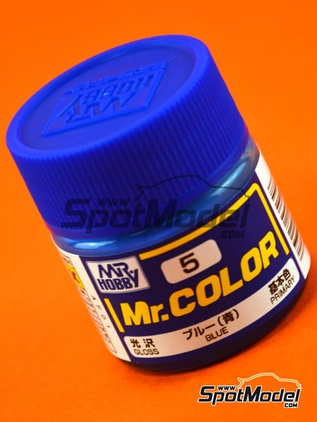 Azul | Pintura de la gama Mr Color fabricado por Mr Hobby (ref. C005) image