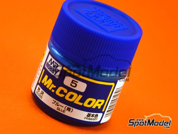 Image 1: Azul | Pintura de la gama Mr Color fabricado por Mr Hobby (ref. C005)