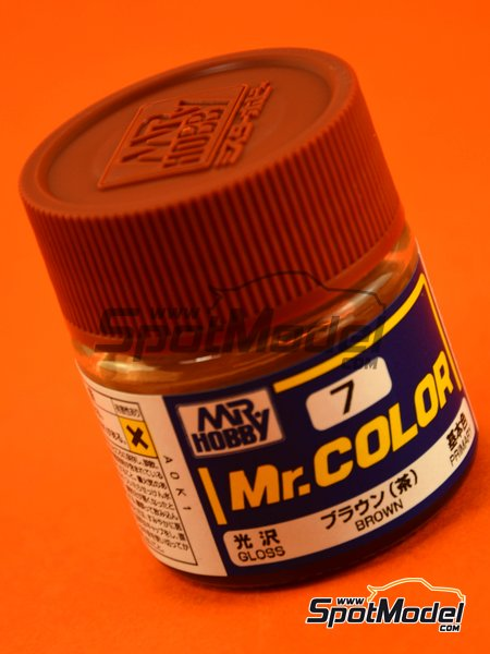 Brown | Mr Color paint manufactured by Mr Hobby (ref. C007) image
