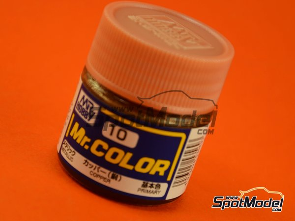 Image 1: Cobre - 1 x 10ml | Pintura de la gama Mr Color fabricado por Mr Hobby (ref. C010)