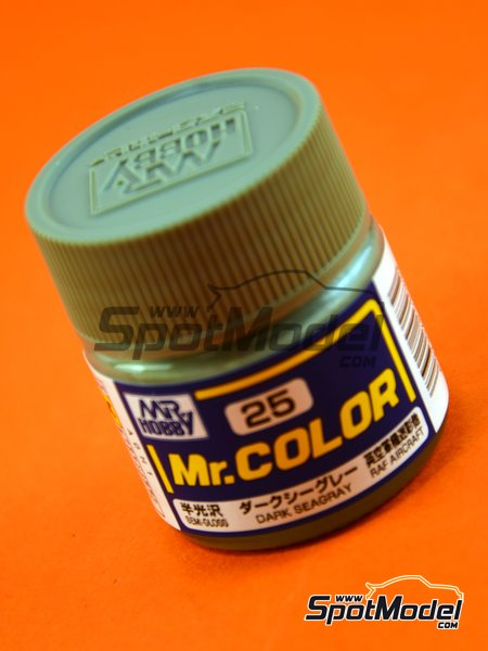 Dark sea gray | Mr Color paint manufactured by Mr Hobby (ref. C025) image