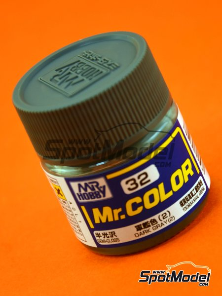 Dark gray - 1 x 10ml | Mr Color paint manufactured by Mr Hobby (ref. C032) image