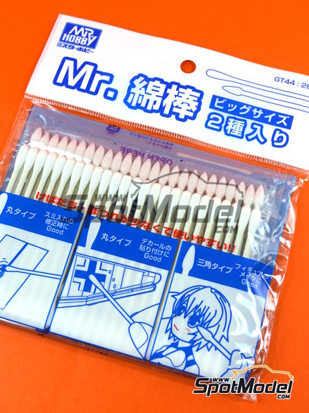 Mr. Precision Swab II | Cotton swabs manufactured by Mr Hobby (ref. GT-44) image