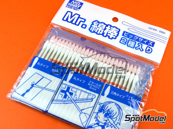 Image 1: Mr. Precision Swab II | Cotton swabs manufactured by Mr Hobby (ref. GT-44)