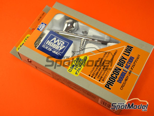 Image 5: Procon boy LWA doble action 0.5mm | Airbrush manufactured by Mr Hobby (ref. PS-266)