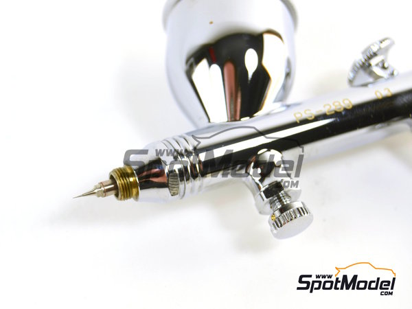 Image 6: Mr. Procon Boy Platinum 0.3 mm | Airbrush manufactured by Mr Hobby (ref. PS-289)