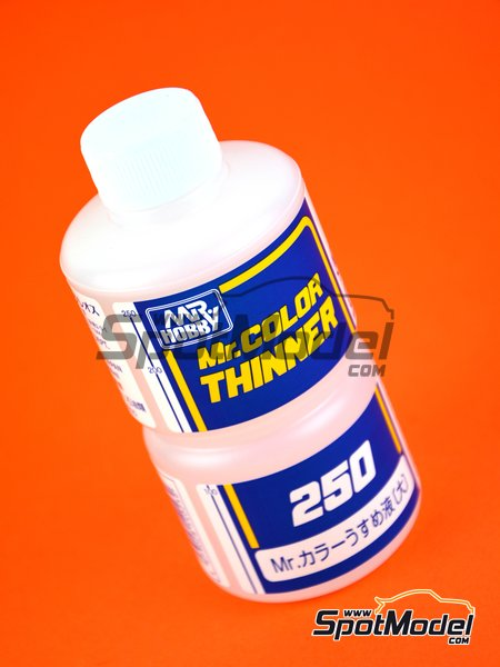 Mr Color Thinner 250ml | Disolvente fabricado por Mr Hobby (ref. T103) image