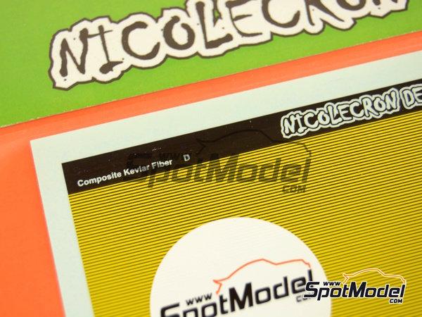 Image 4: Fibra de kevlar | Calcas de agua fabricado por Nicolecron Decals (ref.NLD-CKD)