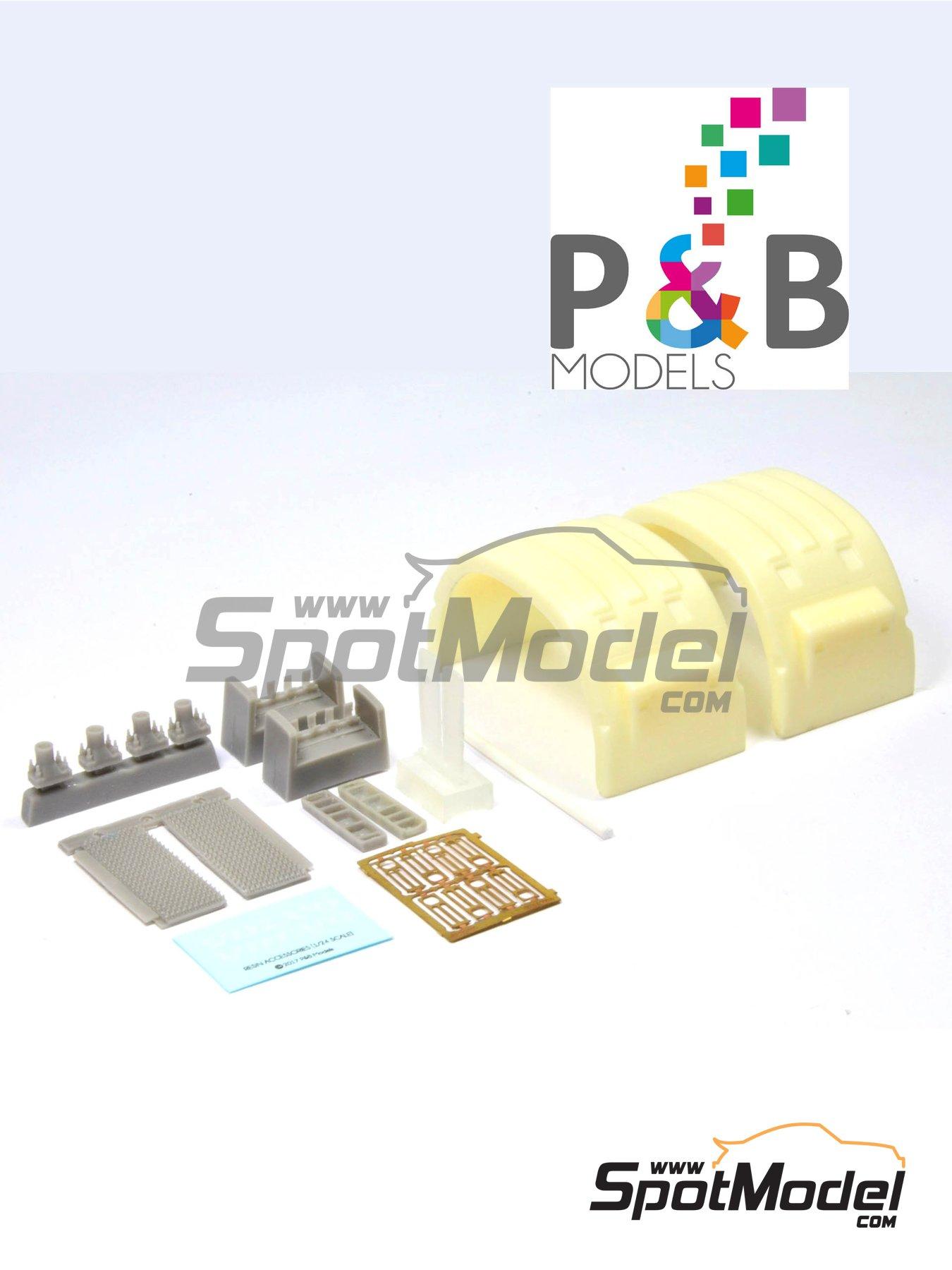 Volvo FH12 | Set de mejora y detallado en escala1/24 fabricado por P and B Models (ref.PBM005) image