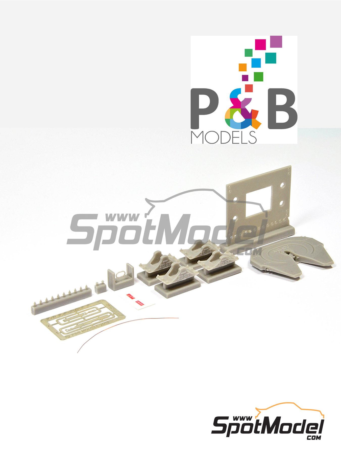 Jost JSK 37 | Detail up set in 1/24 scale manufactured by P and B Models (ref. PBM006) image