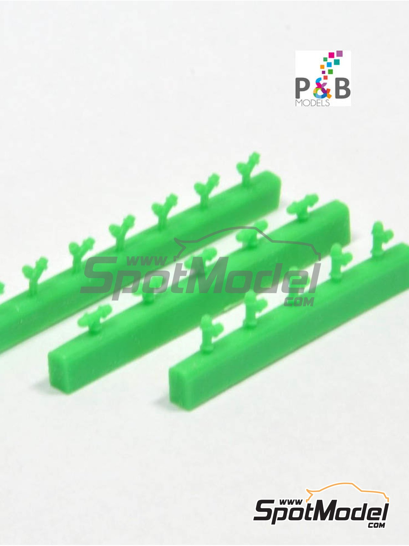Air connectors | Detail in 1/24 scale manufactured by P and B Models (ref. PBM017) image