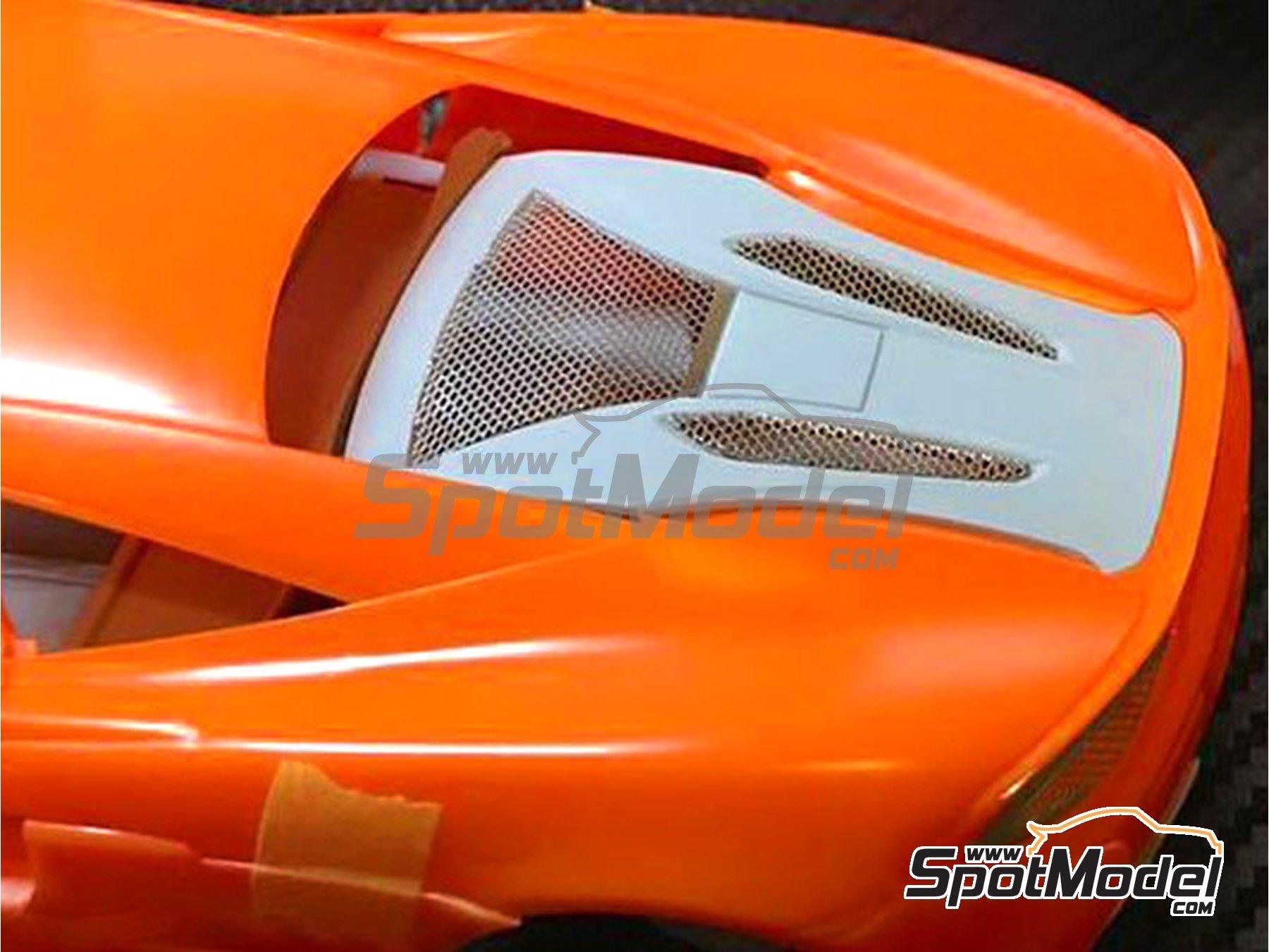 Image 1: McLaren 570S | Set de mejora y detallado en escala1/24 fabricado por Plamoz (ref.PL-E24005)