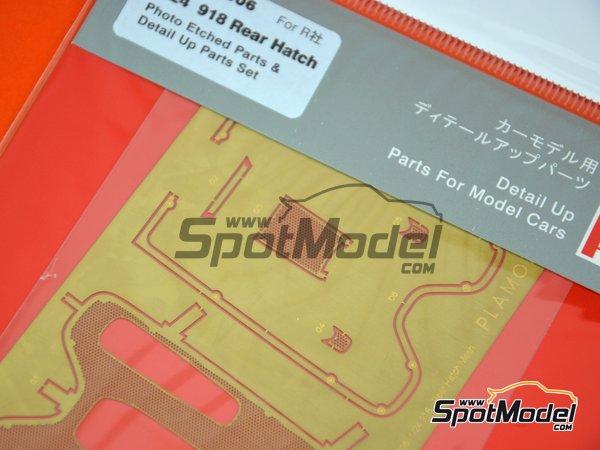 Image 4: Porsche 918 Spyder | Detail up set in 1/24 scale manufactured by Plamoz (ref. PL-E24006)