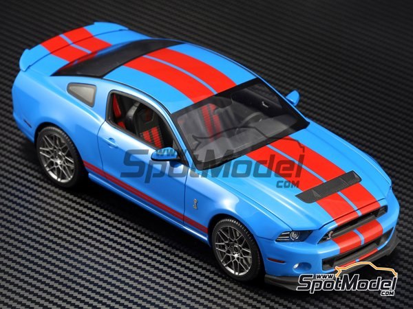 Image 2: Shelby GT500 -  2013 | Transkit in 1/24 scale manufactured by Plamoz (ref. PL-T24002)
