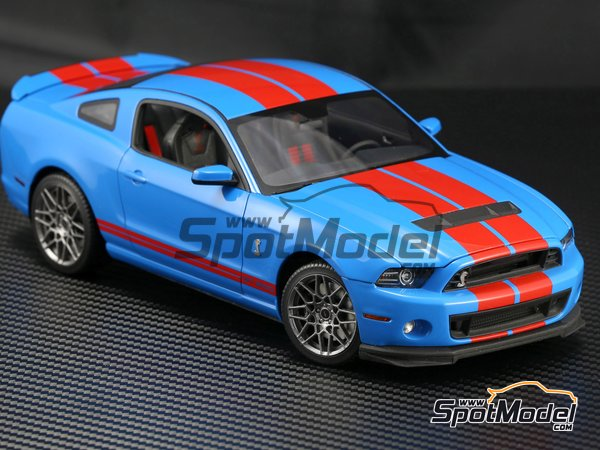 Image 6: Shelby GT500 -  2013 | Transkit in 1/24 scale manufactured by Plamoz (ref. PL-T24002)
