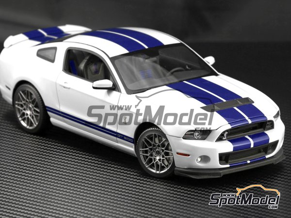 Image 7: Shelby GT500 -  2013 | Transkit in 1/24 scale manufactured by Plamoz (ref. PL-T24002)