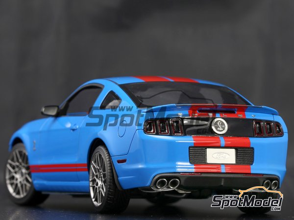 Image 8: Shelby GT500 -  2013 | Transkit in 1/24 scale manufactured by Plamoz (ref. PL-T24002)