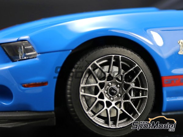 Image 10: Shelby GT500 -  2013 | Transkit in 1/24 scale manufactured by Plamoz (ref. PL-T24002)