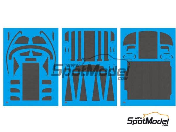 Image 3: BMW M6 GT3 | Detail up set in 1/24 scale manufactured by Platz (ref.NE24002)