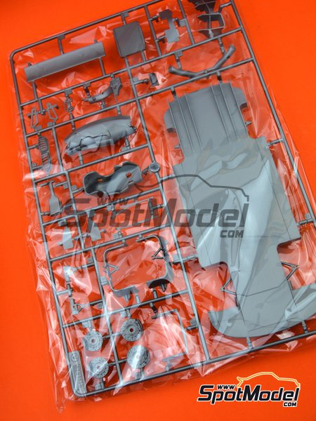 BMW M6 GT3: Sprue A | Spare part in 1/24 scale manufactured by Platz (ref. PN24001-SPRUE-A) image