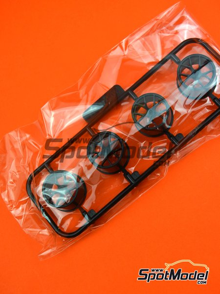 BMW M6 GT3: Sprue W | Spare part in 1/24 scale manufactured by Platz (ref.PN24001-SPRUE-W) image