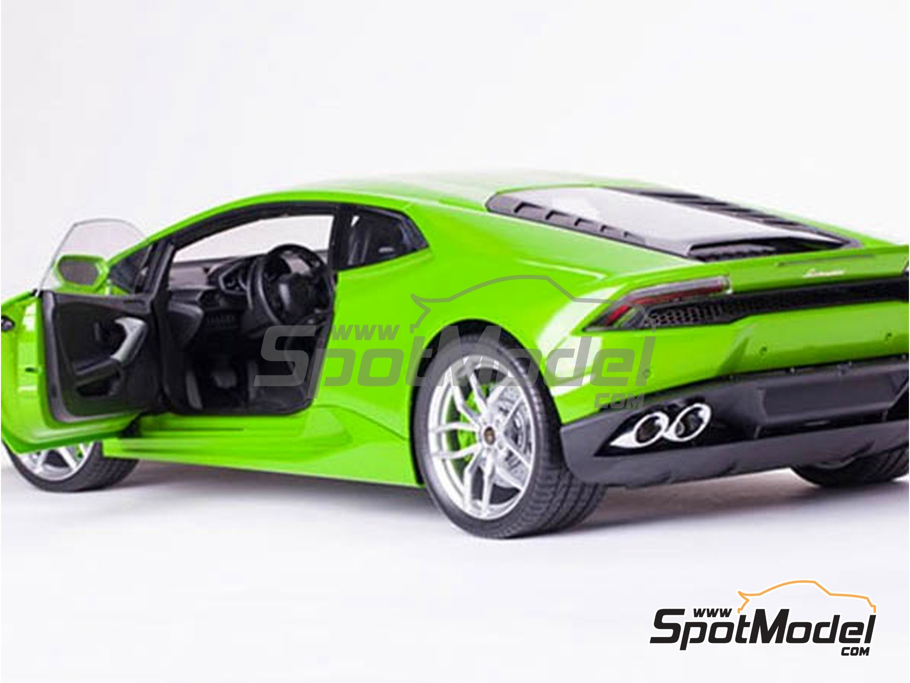 Image 3: Lamborghini Huracan LP 610-4 | Model car kit in 1/8 scale manufactured by Pocher (ref. HK109)