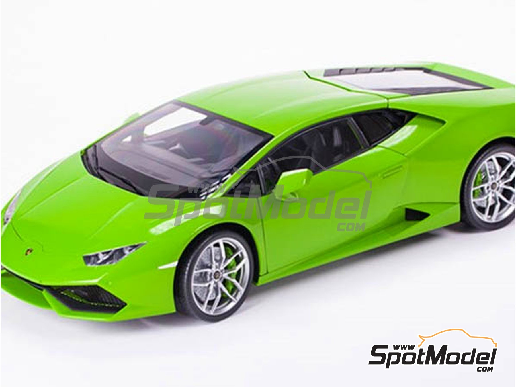 Image 4: Lamborghini Huracan LP 610-4 | Model car kit in 1/8 scale manufactured by Pocher (ref. HK109)