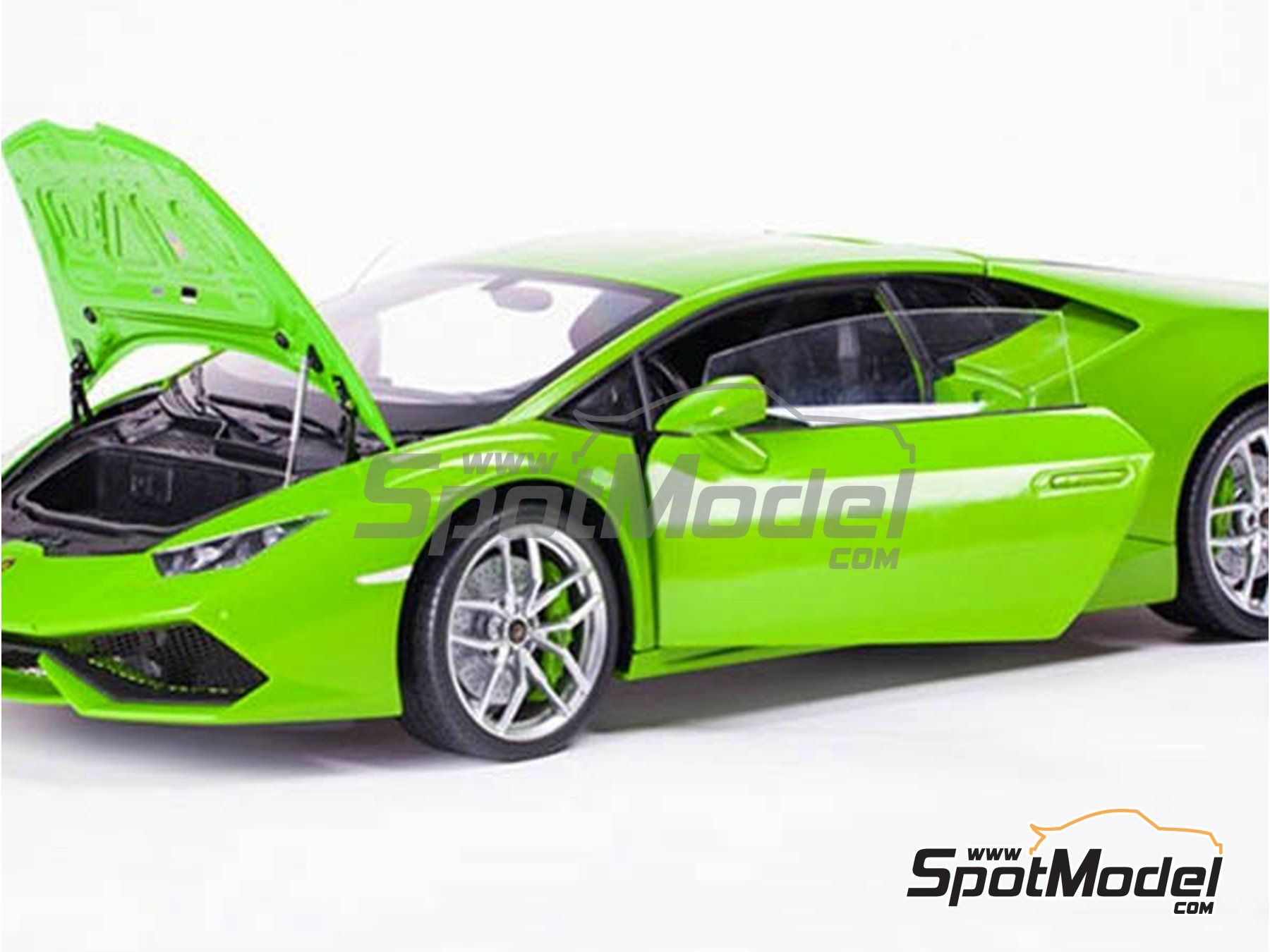 Image 5: Lamborghini Huracan LP 610-4 | Model car kit in 1/8 scale manufactured by Pocher (ref. HK109)