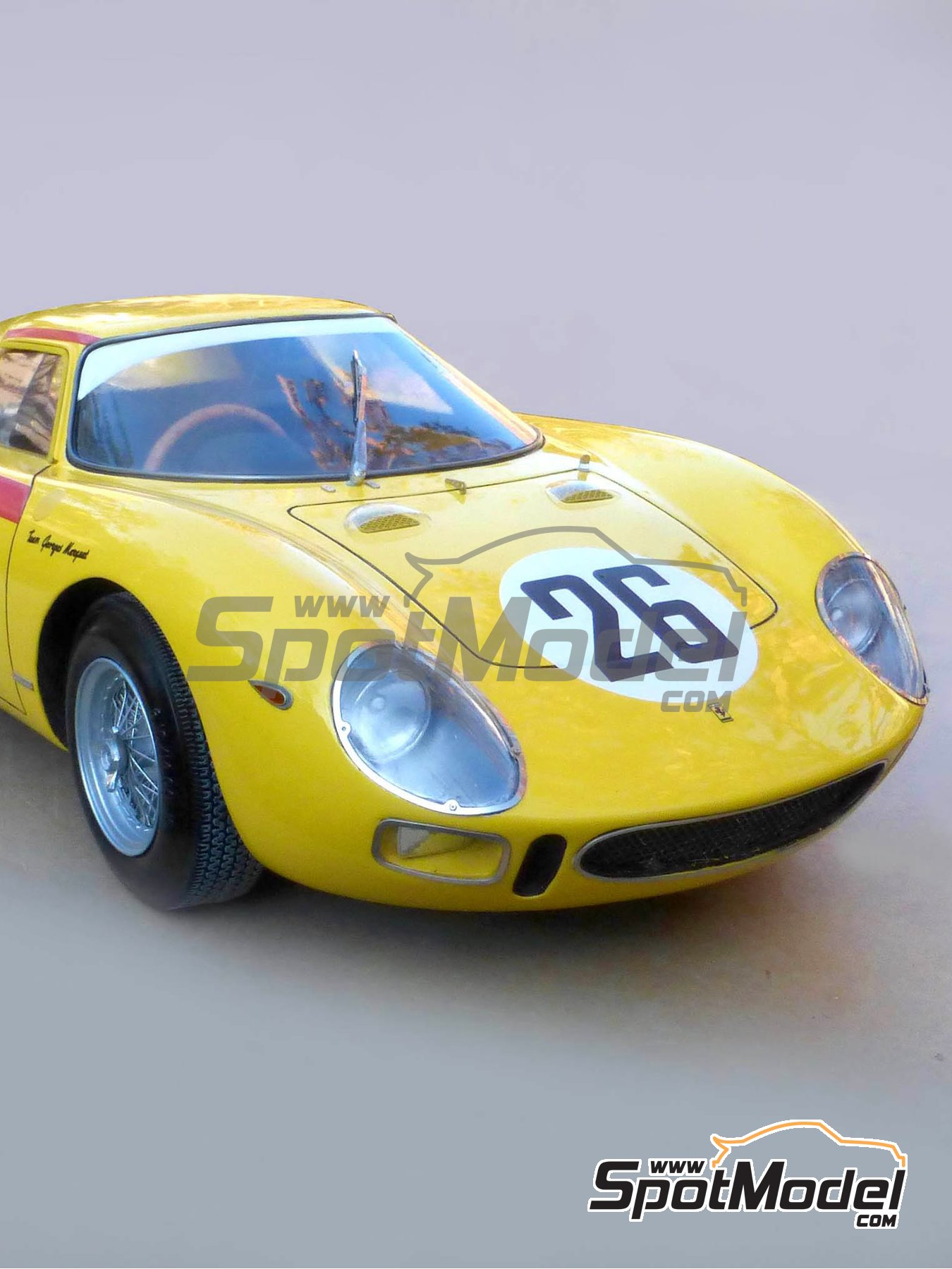 Ferrari 250 LM - 24 Hours Le Mans 1965 | Model car kit in 1/12 scale manufactured by Profil24 (ref.P1206) image