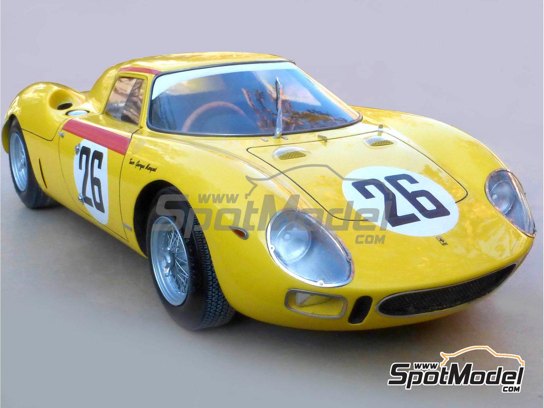 Image 4: Ferrari 250 LM - 24 Horas de Le Mans 1965 | Maqueta de coche en escala1/12 fabricado por Profil24 (ref.P1206)