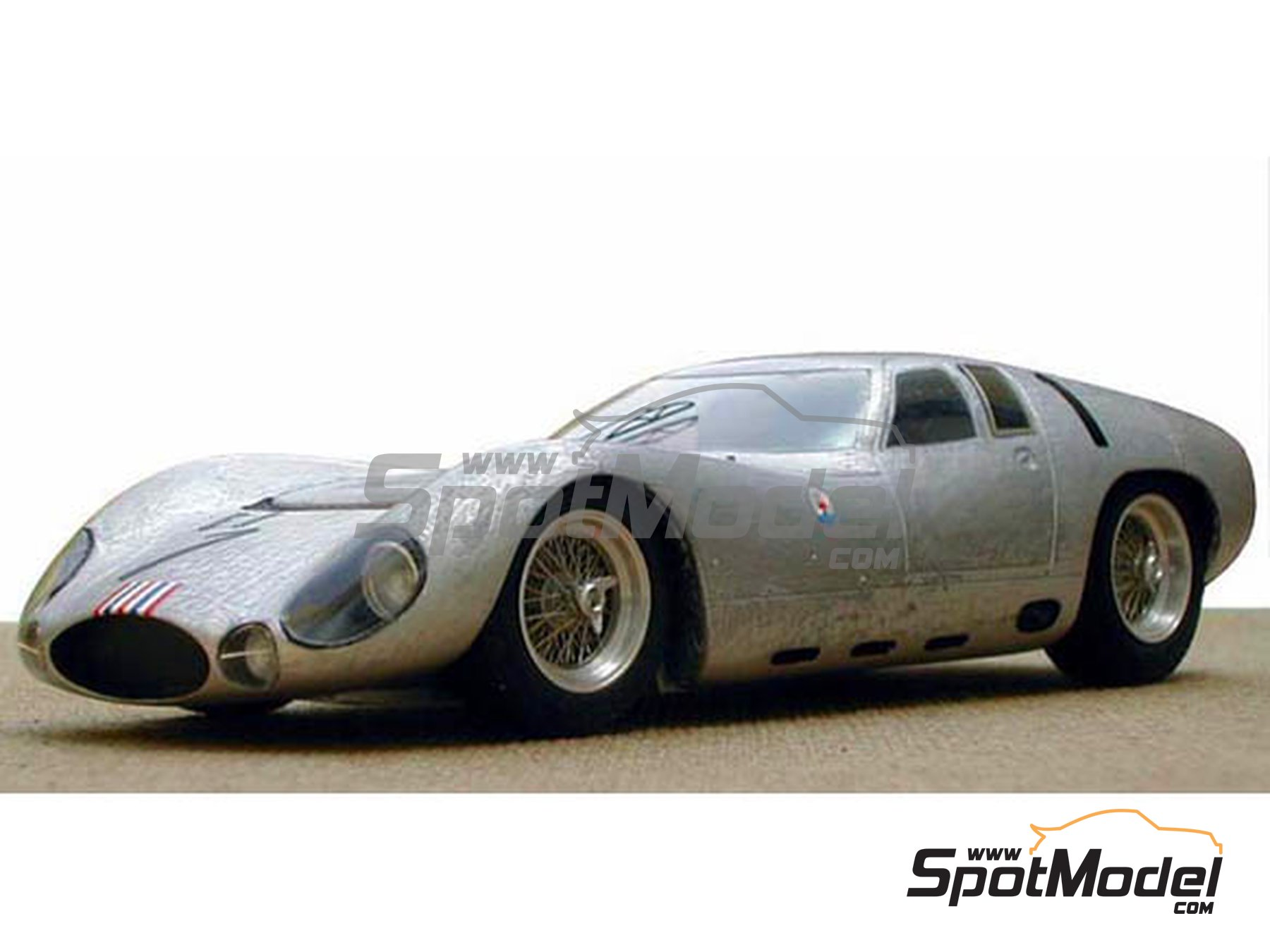 Image 1: Maserati Tipo 151/3 - 24 Hours Le Mans 1964 | Model car kit in 1/24 scale manufactured by Profil24 (ref. P24030)