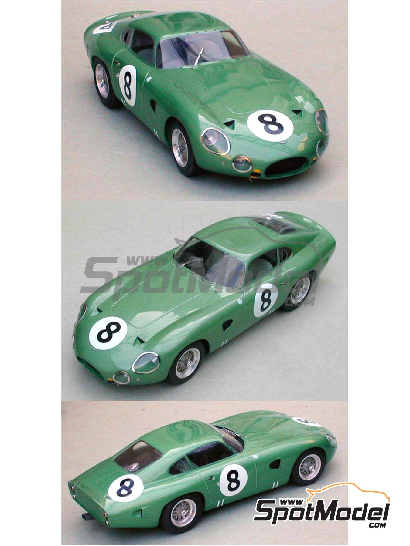 Aston Martin DP214   24 Hours Le Mans 1963 | Model Car Kit In 1/
