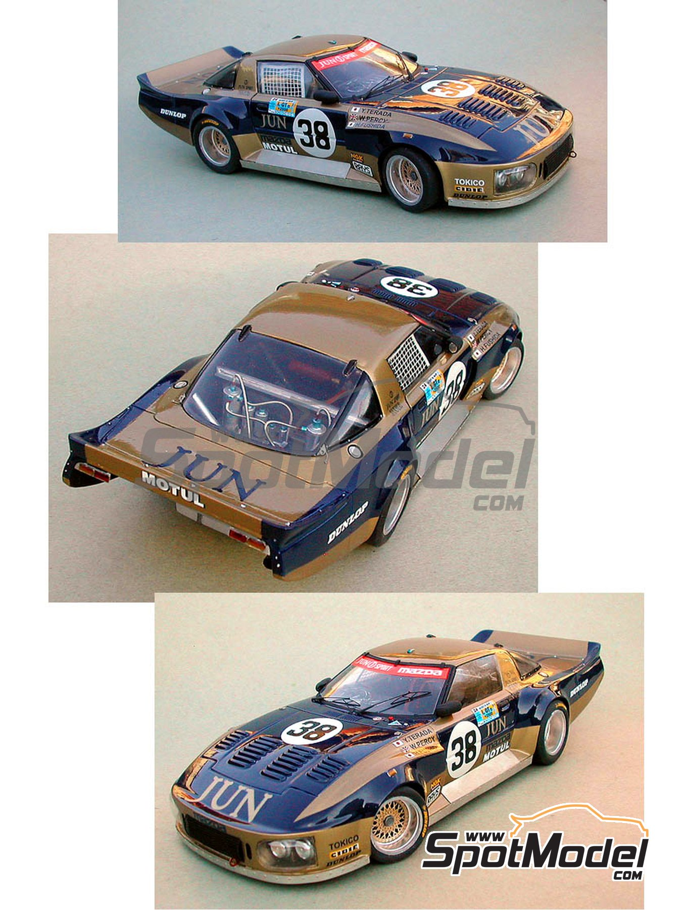 Mazda RX7 JUN   24 Hours Le Mans 1981 | Model Car Kit In 1/