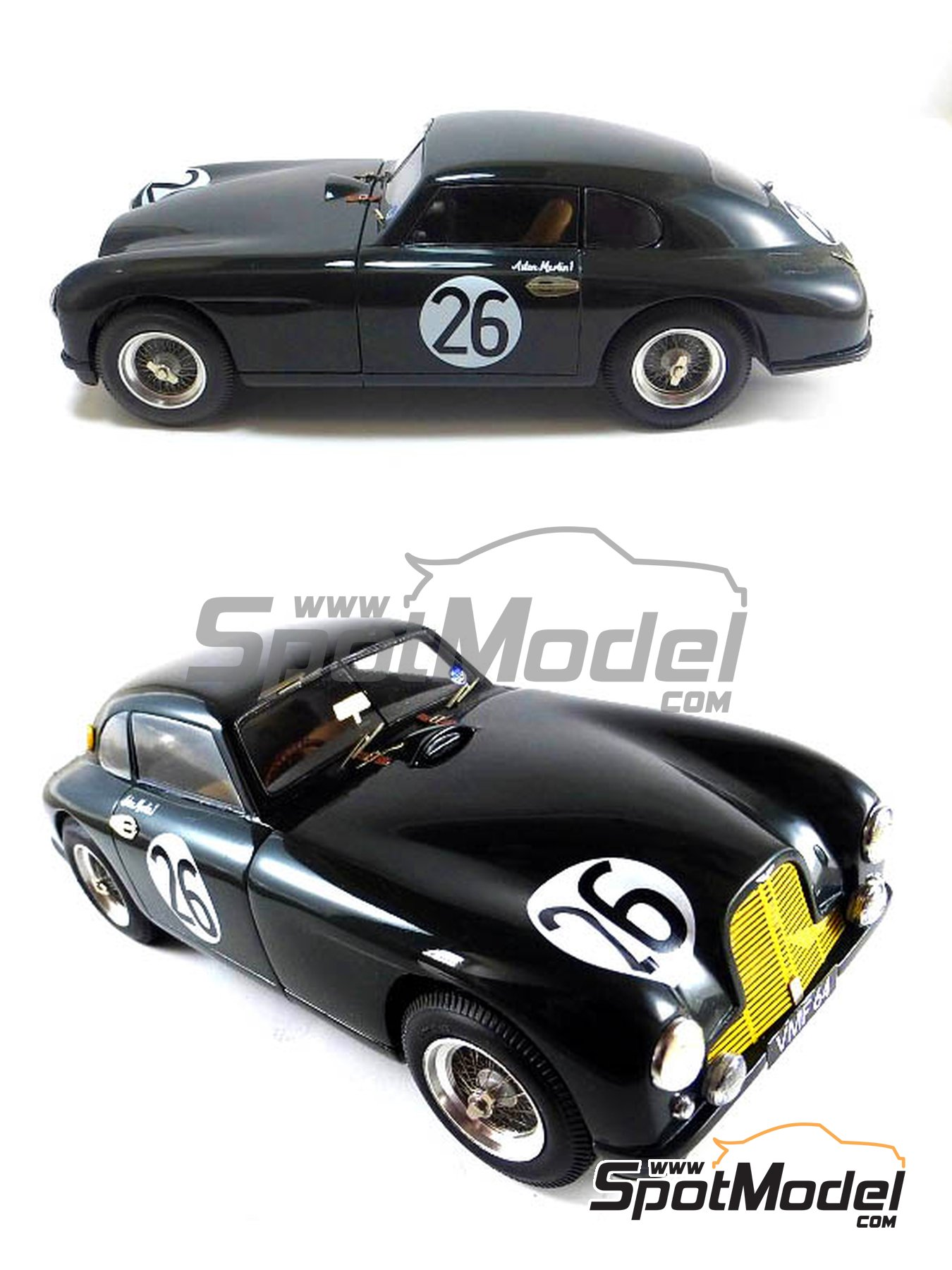 Aston Martin DB2   24 Hours Le Mans | Model Car Kit In 1/24