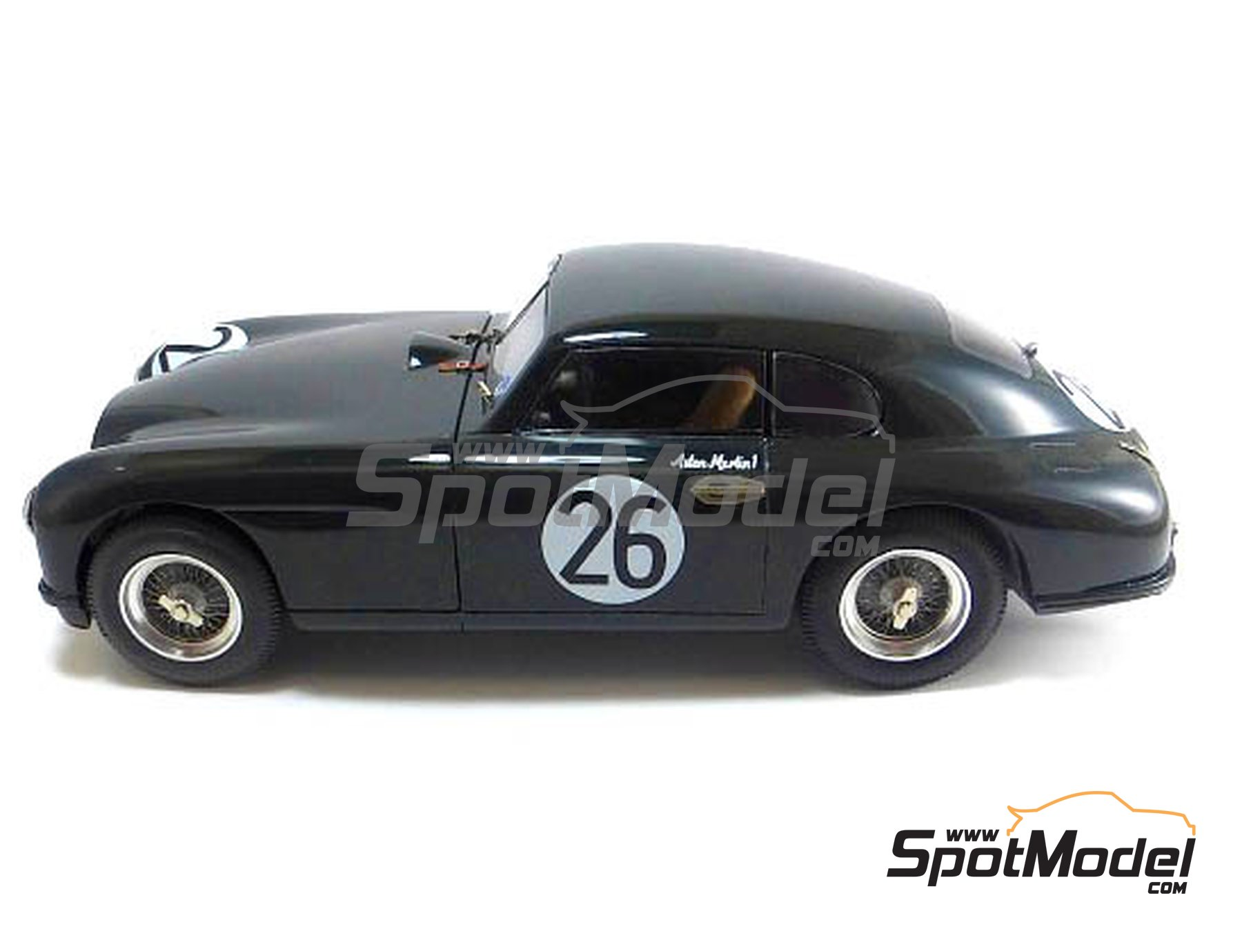 Image 2: Aston Martin DB2 - 24 Hours Le Mans | Model car kit in 1/24 scale manufactured by Profil24 (ref.P24098)