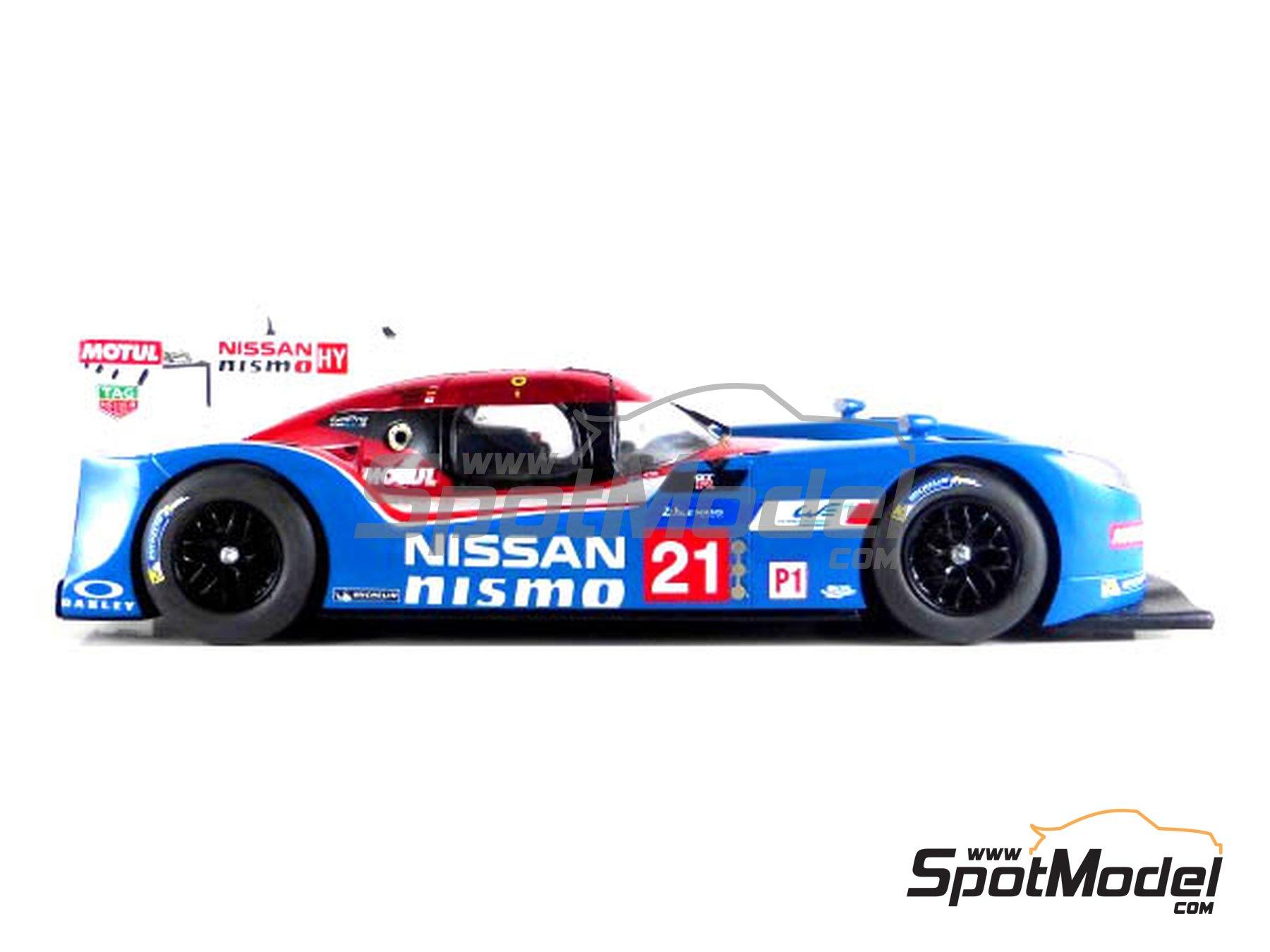 Image 1: Nissan GT-R LM Nismo Nismo - 24 Horas de Le Mans 2015 | Maqueta de coche en escala1/24 fabricado por Profil24 (ref.P24100)