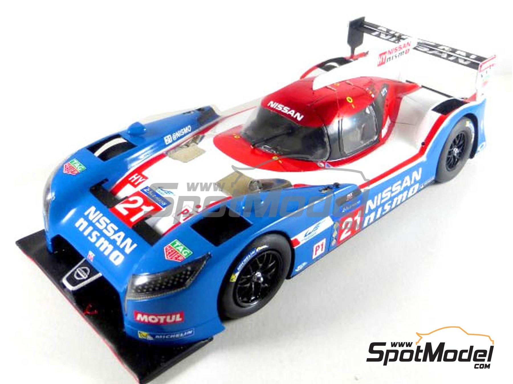 Image 8: Nissan GT-R LM Nismo Nismo - 24 Horas de Le Mans 2015 | Maqueta de coche en escala1/24 fabricado por Profil24 (ref.P24100)