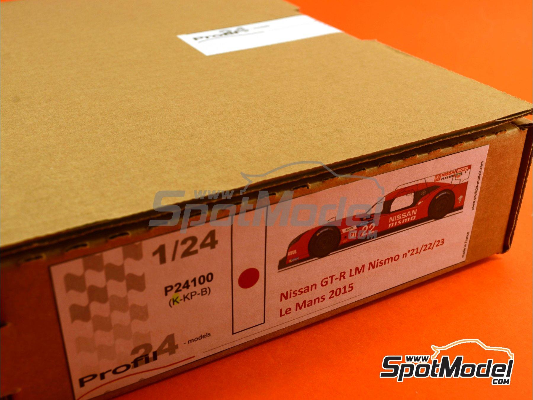 Image 24: Nissan GT-R LM Nismo Nismo - 24 Horas de Le Mans 2015 | Maqueta de coche en escala1/24 fabricado por Profil24 (ref.P24100)