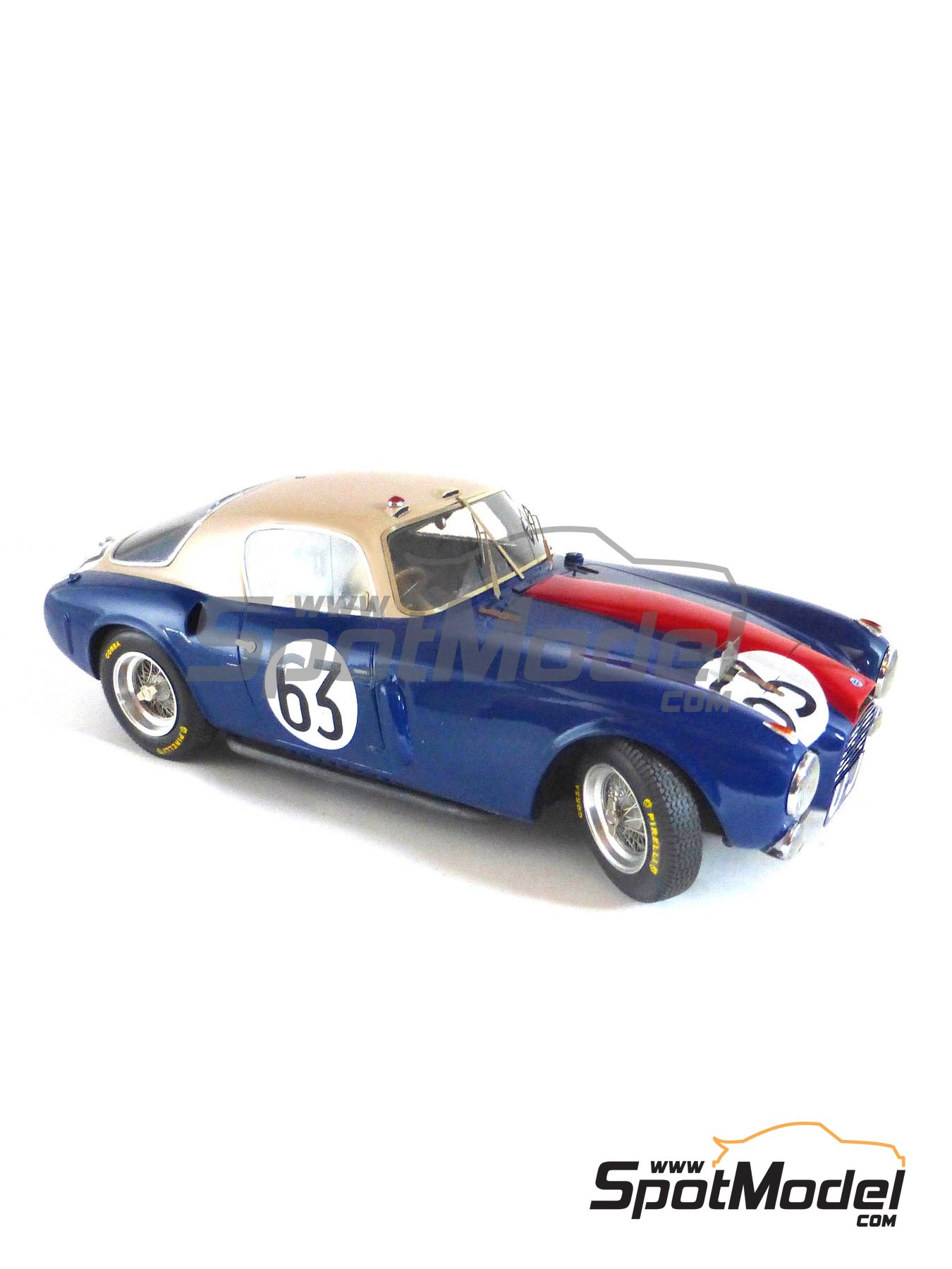 Lancia D20 - 24 Hours Le Mans, Targa Florio 1953 | Model car kit in 1/24 scale manufactured by Profil24 (ref. P24104) image