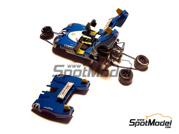 Image 2: Matra-Simca MS670 Shell - 24 Hours Le Mans 1973 | Model car kit in 1/43 scale manufactured by Profil24 (ref.P4314)