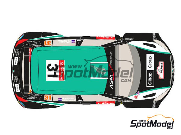 Image 2: Skoda Fabia S2000 New Zealand - Rally de Portugal 2012 | Calcas de agua en escala 1/24 fabricado por Racing Decals 43 (ref. RD24-017)