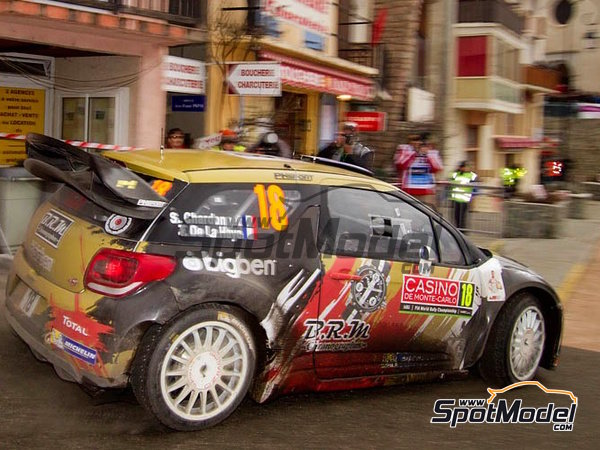 Image 12: Citroen DS3 WRC BRM - Montecarlo Rally - Rallye Automobile de Monte-Carlo 2015 | Decals in 1/24 scale manufactured by Racing Decals 43 (ref.RD24-021)