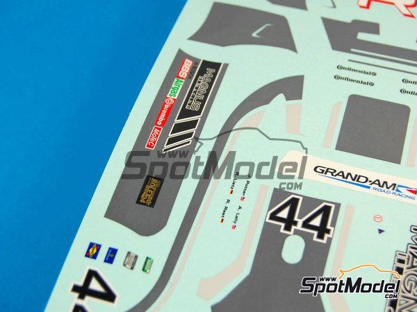 Image 8: Porsche 911 GT3 Magnus Racing - 24 Horas de Daytona 2012 | Calcas de agua en escala1/24 fabricado por Racing Decals 43 (ref.RDE24-003)